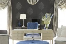Office Space / that make you want to go to work...just so you can goof off on Pinterest and LOOK like your working. http://CasaStephensInteriors.blogspot.com / by Casa Stephens Interiors.com