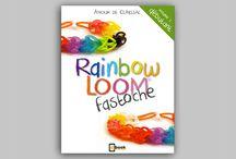 """Rainbow Loom Fastoche / """"Rainbow Loom fastoche"""" volume 1 est le livre pour apprendre à réaliser, étape par étape, les très beaux bracelets, bagues et colliers en élastiques multicolores des célébrités !"""