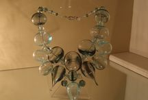 MORFIA Colliers précieux / Feuilles d'or, d'argent, perles complexes,...