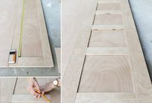 DIY doors and cabinetry