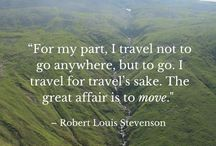 Quotes / Travel & Life Quotes to inspire, engage, and motivate the world to move and see the world!