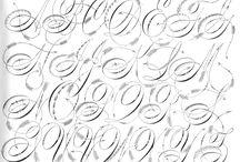 Fonts - Bokstaver