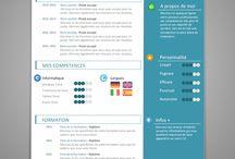 CV infographics