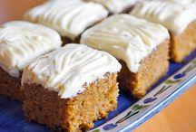 Desserts and Cakes / Kaker og Dessert / languages: English and Norwegian
