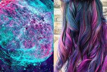 Galaxy Hair Inspiration / 0