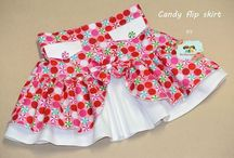 Girls Flip Skirt PDF Pattern
