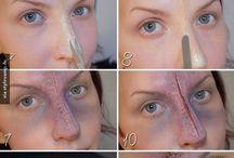Narben schminken