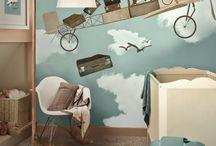 cute - wall coverings kids room
