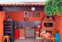Dapur luar ruangan