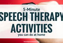 speach therapy