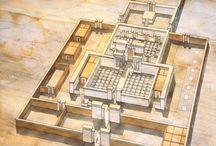 Древний Египет (планы, схемы, интерьеры)