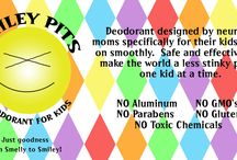 For Kids / All natural deodorant the entire family can feel great about!