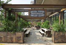 Craft beer garden