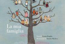 La mia famiglia / La mia famiglia, di Gianna Braghin e Vessela Nikolova, Bacchilega Junior 2015