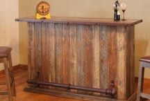 Barras drink tables wood pallet