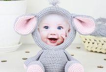 Crochet photoframe