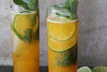 Cocktails and spiritz