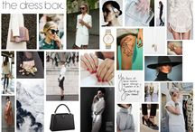 Fashion boards / Inspirational. Mood. Boards.