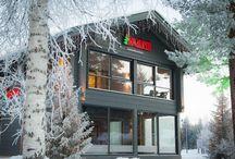 Fachadas Rovaniemi Casas de Madera / Exteriores de casas construidas por Rovaniemi Casas de Madera