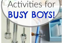 Kids' Activities / Anything I can make from everyday items to keep my son busy