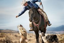 Cowboys and Horses: The art of western riding
