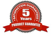 5 Years Product Guarantee / We never compromise with quality of material that why we commit the 5 years Products Guarantee.