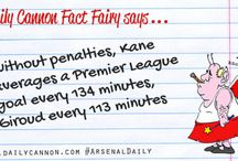 Daily Cannon Fact Fairy / Learn something about Arsenal from our rather charming fact fairy