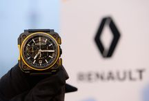 Bell & Ross x Renault Sport F1 Team / Starting this season, Bell & Ross will be the Offcial Watch Partner of the Renault Sport Formula One Team. The alliance of these two brands, which share the same values, will certainly push the limits of mechanics.