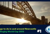 50 things to do in and around Newcastle during the Rugby World Cup 2015 / If you're visiting Newcastle for the Rugby World Cup this October, make sure you try out some of these fantastic experiences around the North East of England.
