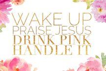 Think Pink, Drink Pink