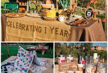 L'anniversaire de camping