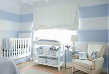 Blue Baby Bedding & Nursery Design