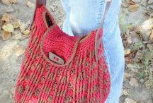 Sacs au tricot-crochet