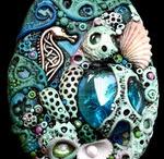 Jewelery with Stones Found Objects / by Mindi Scott
