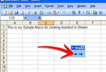 Excel tips and shortcuts