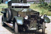 Early army vehicles / Vehicles