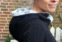 Lady Pull*ee von NipNaps / Der Lady Pull*ee von Nipnaps ein richtiger Kuschelpullover, dessen Schnittmuster super für dickeren Sweat, Alpenfleece oderauch Sommersweat geeignet ist. Zudem zaubert der schmale Vorderbeleg eine schlanke Taille. Ideal auch für Anänger.
