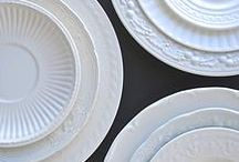 W H I T E / white weddings, white design, event styling, tablescapes and white table wares