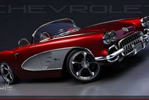 Chevrolet Corvette / by KN Collectibles