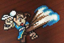 z - pixel art - Street Fighter