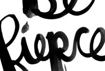 Hand Lettering / I love all things hand done/hand type/hand lettering