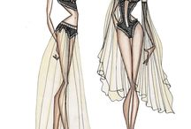 Lingerie - sketches