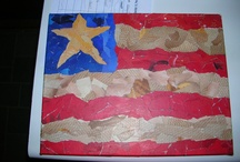 *flag crafts / USA / by Holly Lamont