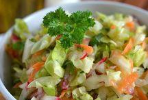 surowki salatki