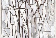 Alexis - Piet Mondrian / Peintre, tableaux, école, enfants