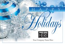Business Christmas Cards / Business Christmas cards personalized with your business name are a great way to connect with customers, clients, business associates and employees. Customize each card with verse and imprint.