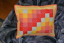 My patchwork / Moje prvé pokusy s patchworkom...