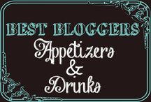 BB - Appetizers & Drinks / Appetizers & Drinks from the best bloggers out there.  Find appetizers, finger foods, drinks, cocktails, mocktails and much much more.   Only 5 pins a day allowed.  Bobbi or Adrian can invite ONLY.  Want an invite? Go here - https://www.pinterest.com/3glol/group-board-invitations/