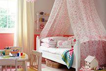 Girls bed room idea
