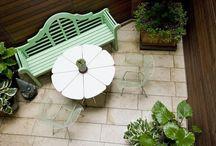 Terrazas,balcones y patios